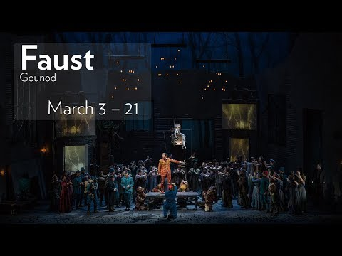 Gounod's FAUST at Lyric Opera of Chicago // Onstage Now through March 21