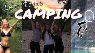 1st time camping with my best friends! 2018 Summer Vacation 🏕