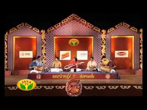 Margazhi Utsavam - Episode 39 Rajesh Vaidhya On Wednesday,06/01/2016