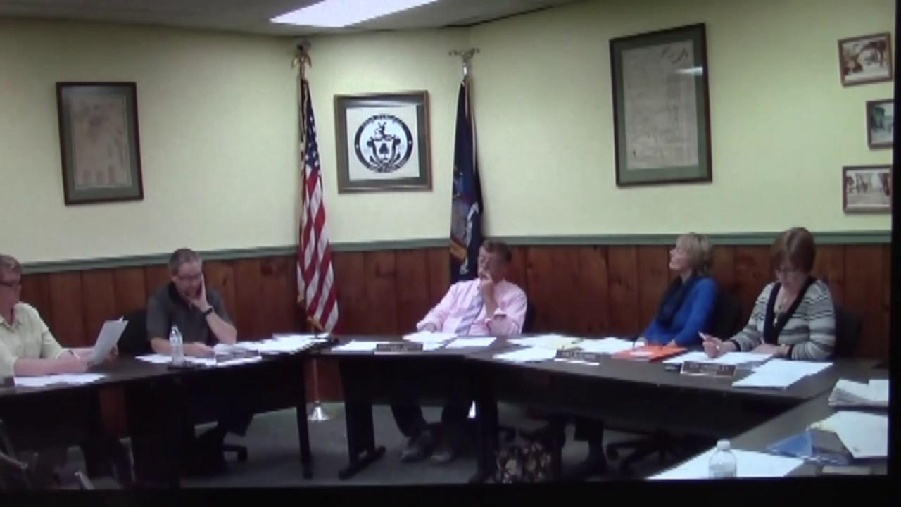 Champlain Village Board Meeting  10-17-16