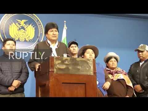 Bolivia: Evo Morales Calls For New Presidential Election