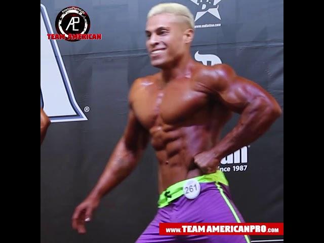 ROBERT FAUCHEUX - MEN'S PHYSIQUE - TEAM AMERICAN - www.TeamAmericanPro.com