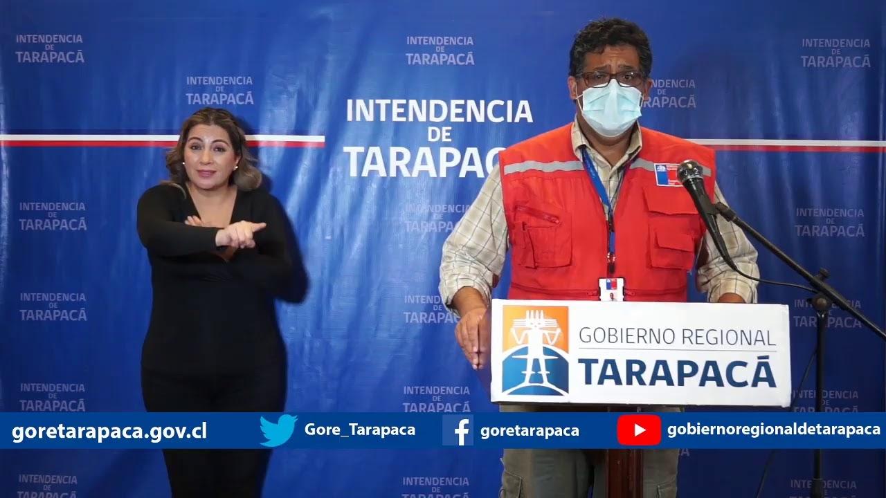 Punto de prensa 12 de julio de 2020 - Gobierno Regional de Tarapacá