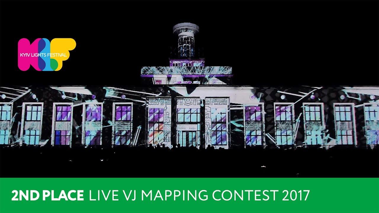 VJ Reinish - LIVE VJ MAPPING CONTEST 2017