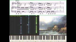 Шторм - Вивальди Антонио (piano cover) (Ноты, Видеоурок)