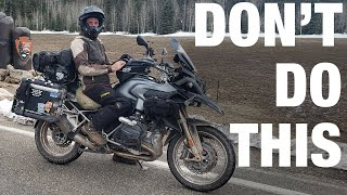 Motorcycle Travel Mistakes To Avoid (5 Beginner Tips)