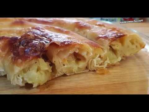 mamina krompiruša pita recept / pita od krompira