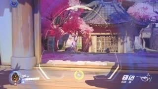Overwatch - Hanamura on Attack 1:49 [Ana]