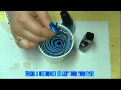 Nail design 005 blue purple water marble youtube nail design 005 blue purple water marble prinsesfo Choice Image