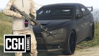 Full Metal Jacket Bullet Test - GTA Online