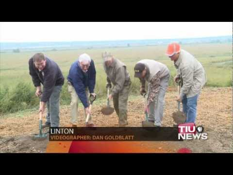 DNR Breaks Ground On Goose Pond Visitor Center