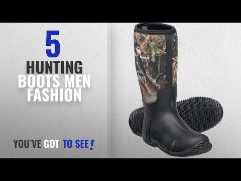 Top 10 Hunting Boots [Men Fashion Winter 2018 ]: Mens Camo Rubber Boots 11 D(M) US Camouflauge