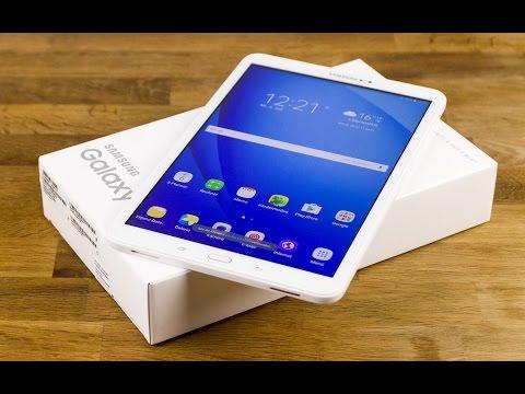 Samsung Galaxy Tab A 10.1 Unboxing: Mein erster Eindruck | Deutsch