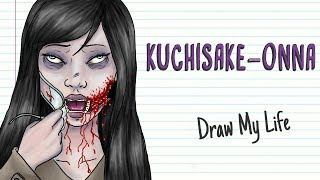 KUCHISAKE-ONNA, THE JAPANESE LEGEND OF THE SLIT MOUTH WOMAN | Draw My Life