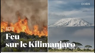 Un incendie ravage le Kilimanjaro, la plus haute montage d'Afrique