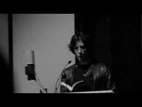 Neil Gaiman reads from Anansi Boys [jun 05]