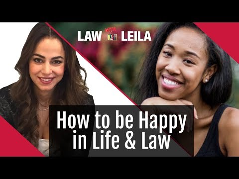 How to be HAPPY in life and law with Okeoma Moronu