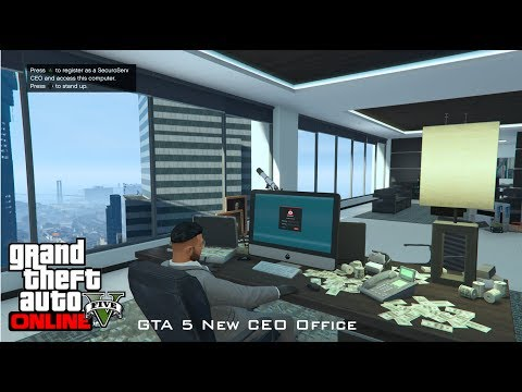 GTA 5 Online - Moving CEO Offices (Maze Bank West to Arcadius) Walkthrough