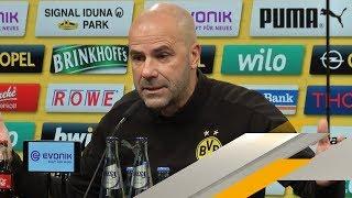 Derby-Ultimatum der BVB-Bosse? Das sagt Peter Bosz   SPORT1