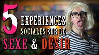 CHRIS : 5 Expériences Sociales Sur le Sexe & Désir