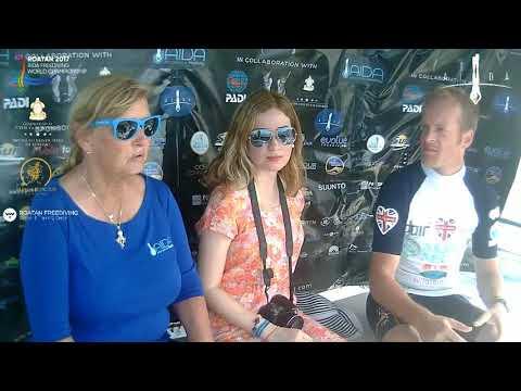 Roatan 2017 AIDA Freediving World Championship - DAY 5 - Women CNF