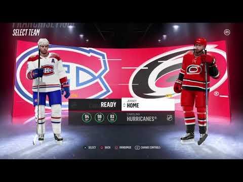 Round 1 - Carolina | NHL 18 Franchise Mode - Fixing the Franchise | Montreal Canadiens #25