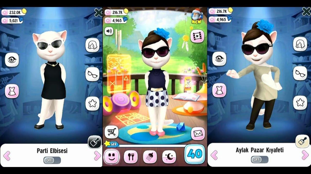 My Talking Angela Dress Up #4 - GamePlay Trailer - YouTube