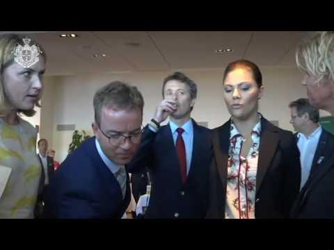 "Danish and Swedish Royals at ""Livable Scandinavia""."