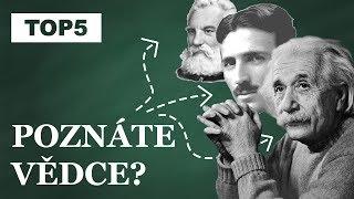 ZNÁTE JE? | TOP 5 Vynálezců a vědců, které by měl každý znát