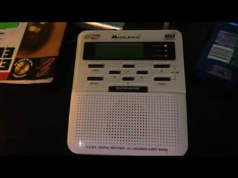 Weather Radio Canada - Severe Thunderstorm Warning (EAS #21)