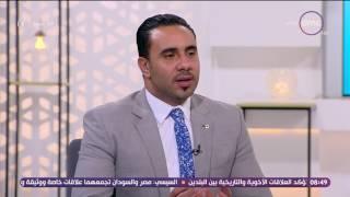 8 الصبح - د/أحمد صبري يتحدث عن علاقة العلاج الطبيعي بأمراض السمنة وزيادة الوزن
