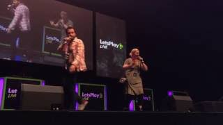 Miles and Lindsey Entertain the Crowd | LPL NYC '16