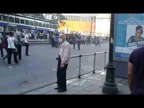 Ankara Kizilay Gezi Parkı Protestosu