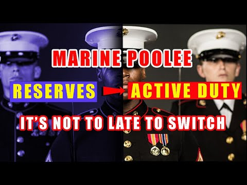 Switching from Reserves to Active Duty Contract as a Marine Corps Poolee | Marine Interview