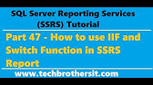 SSRS Tutorial 46 - How to Hide Empty Rows in SSRS Report - YouTube