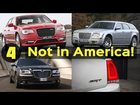 4 Chrysler 300 Models That Were Never Released in the United States!