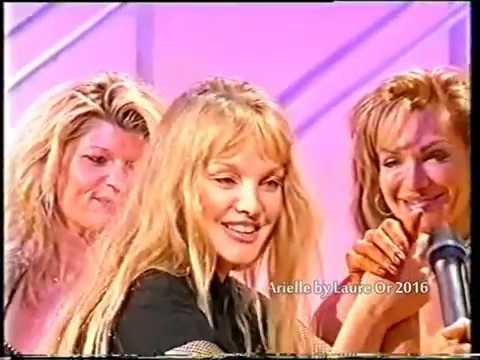 Arielle Dombasle chez Julie Snyder 2000