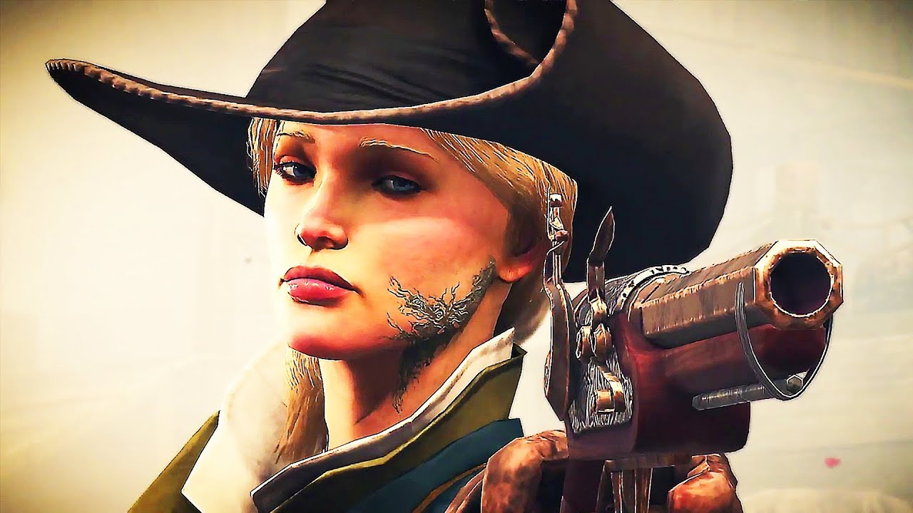 GREEDFALL-Gameplay-Trailer (2019) PS4 / Xbox One / PC + video