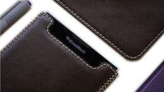 BlackBerry Passport Leather Wallet Case Cover by Khacten (4K)