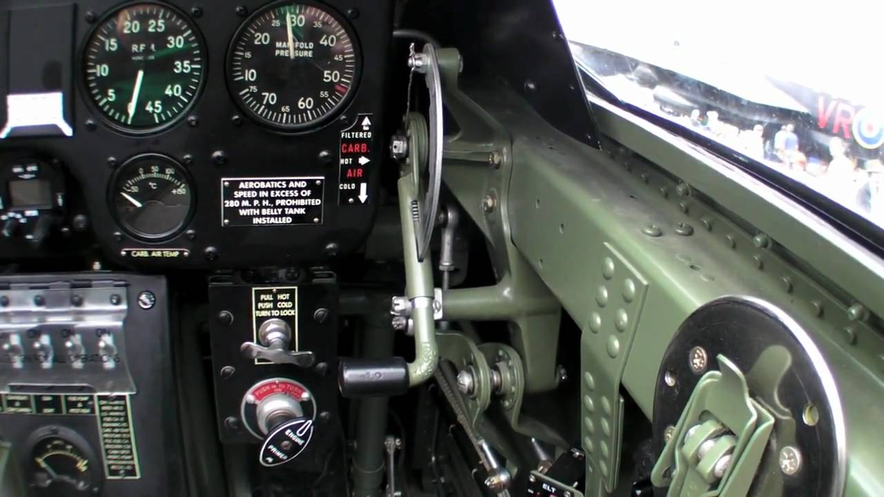 P-40 Cockpit Tour - YouTube