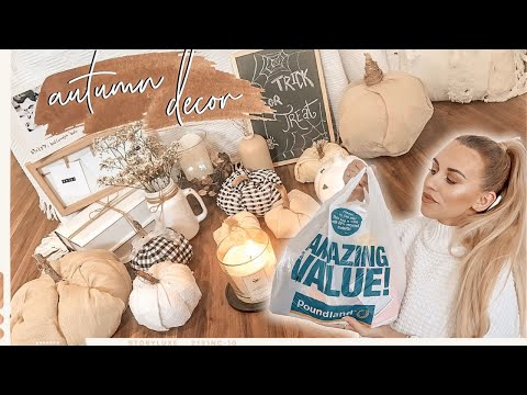 AUTUMN POUNDLAND HAUL & AUTUMN HOME DECOR DIY | SEPTEMBER 2019