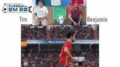 Virtuelle Fußball-EM, Gruppe E: Spanien - Irland