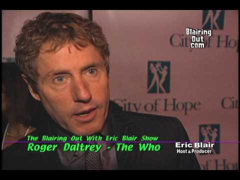 The Who's Roger Daltrey & Eric Blair talk City Of Hope Oct/11/2001