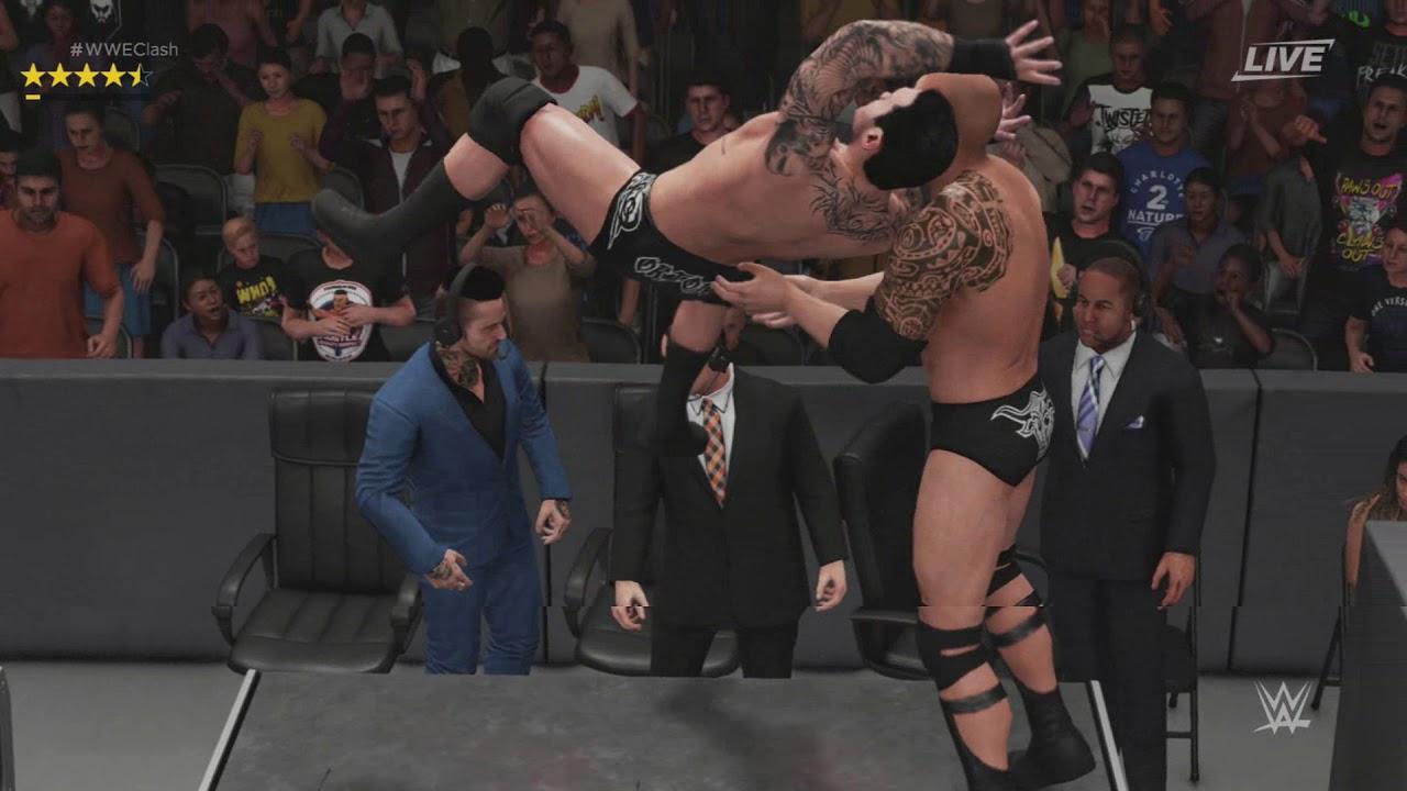 WWE 2K19 - The Rock Vs John Cena vs Randy Orton