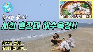 (전편)서천 춘장대 해수욕장!!/서천 물회 맛집! (C…