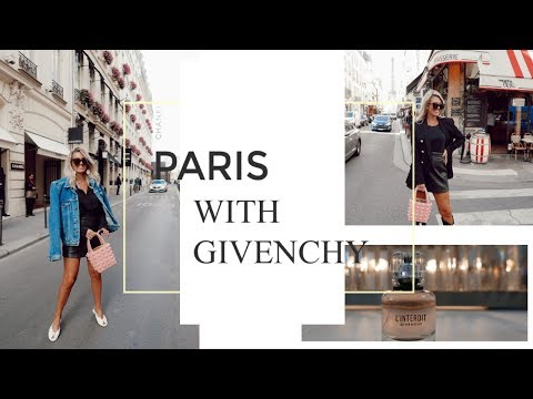 COME TO PARIS WITH ME & GIVENCHY! | 500 L'INTERDIT PERFUME SAMPLES TO GIVE AWAY!!  | IAM CHOUQUETTE