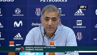 ¡Universidad de Chile ya piensa en el partido de vuelta ante Melgar!