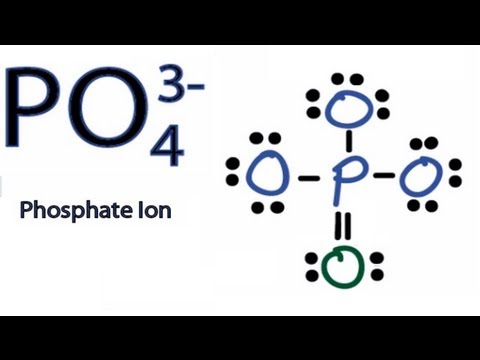 PO4 3- Lewis Structure: How to Draw the Lewis Structure for PO43-