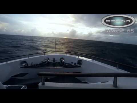 Bering 65 Serge in rough seas