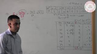 مبادئ الإحصاء، مقاييس النزعة المركزية  المنوال المحاضرة العاشرة